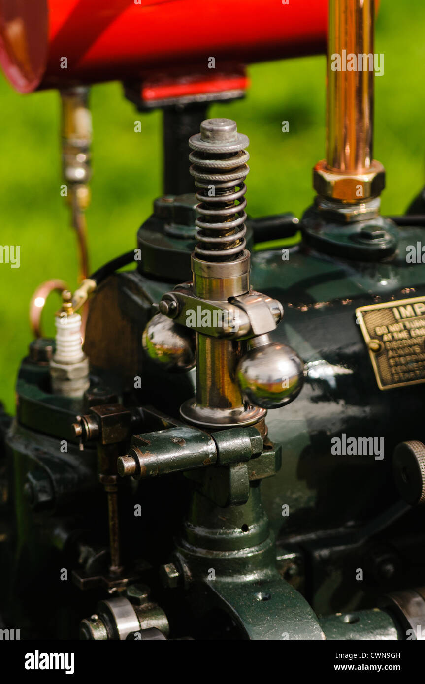 Governor on a stationary engine - Stock Image