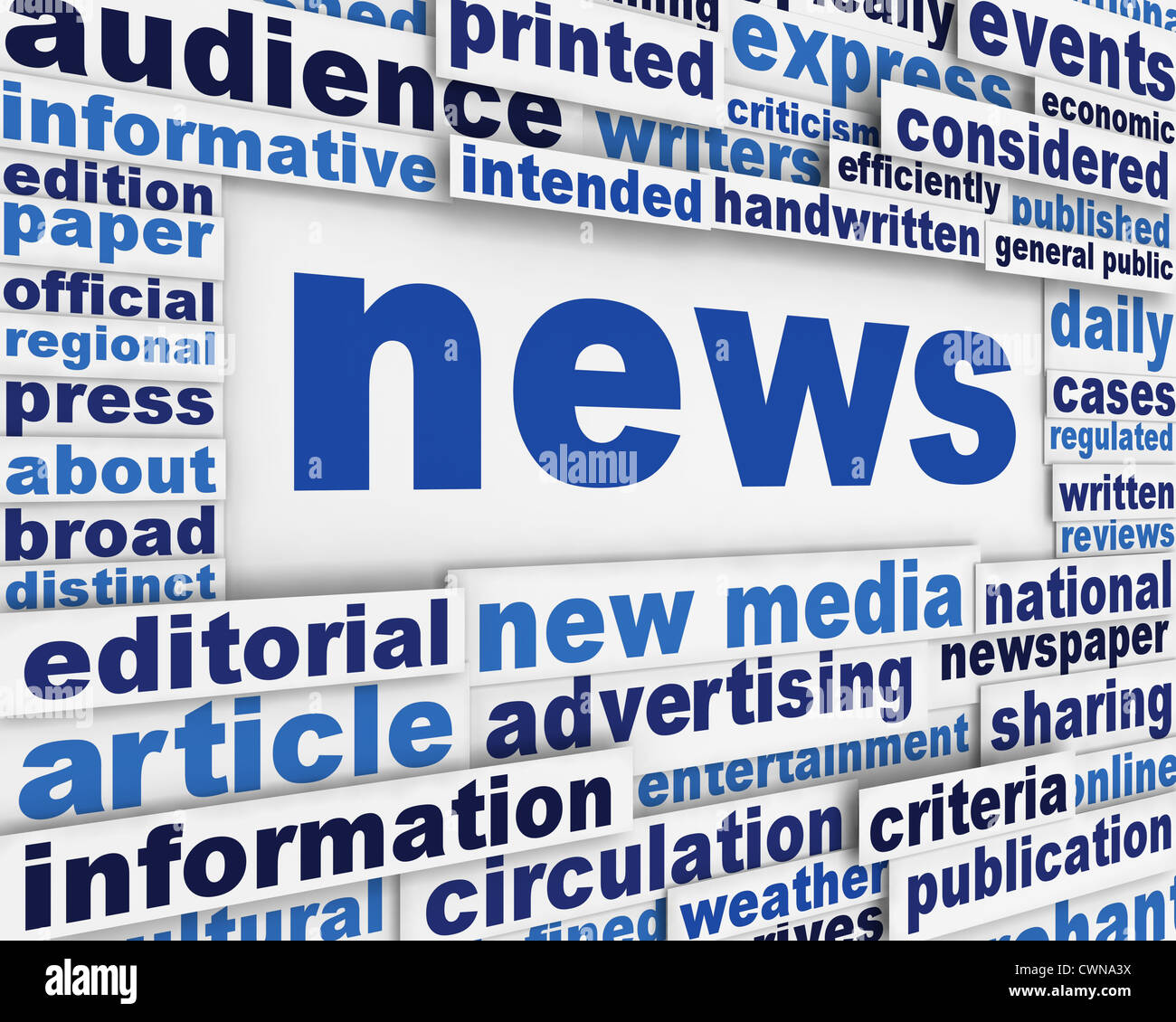 news poster design background stock photo 50256078 alamy