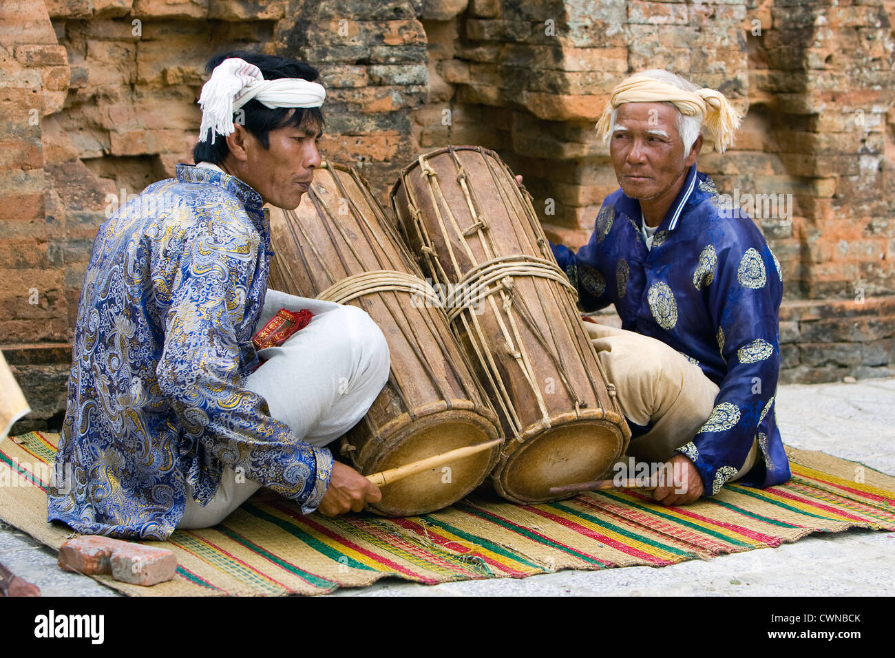 The Cham people are an ethnic group in Southeast Asia - Stock Image