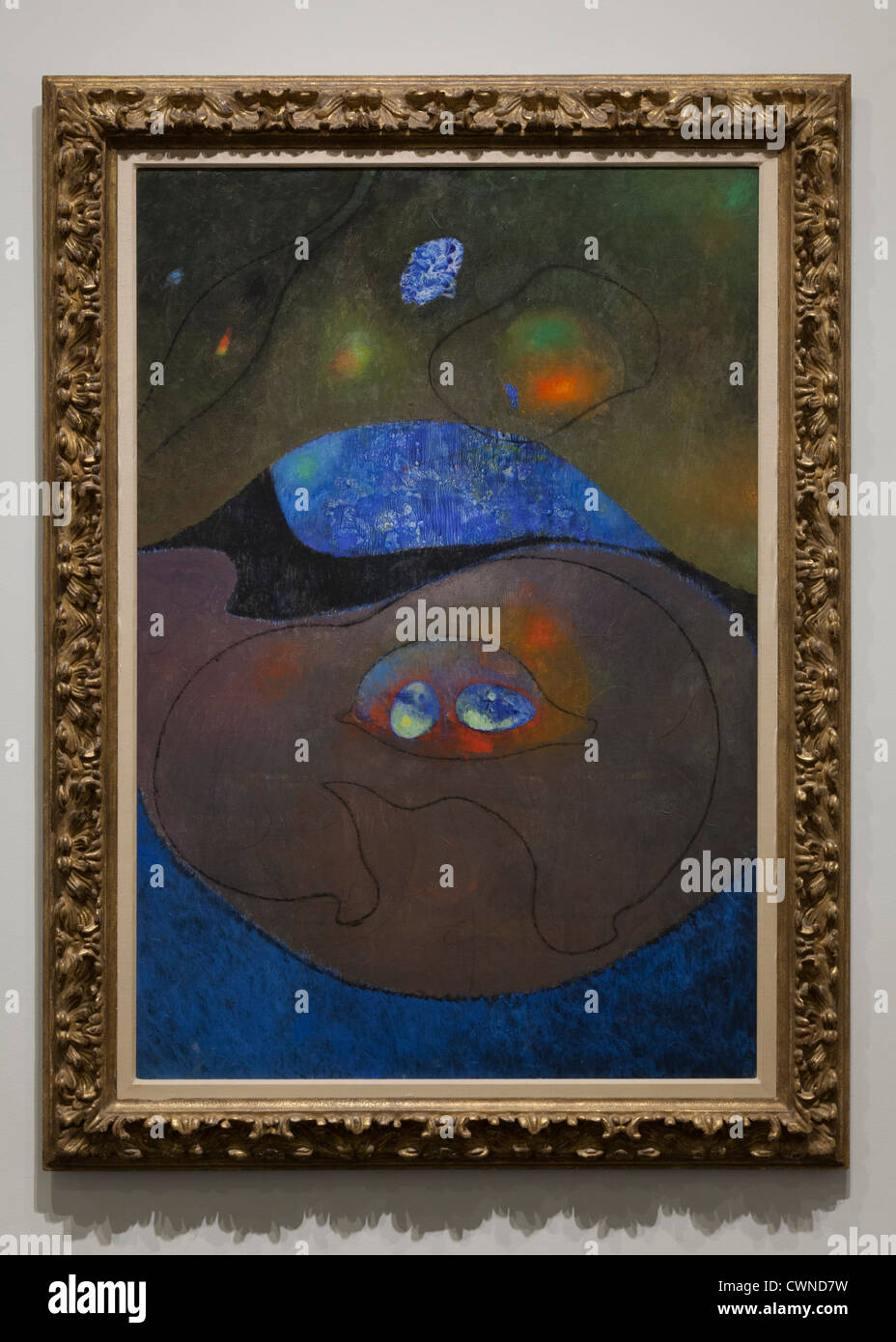 'Beauty of the Night' by Max Ernst, 1954 - Stock Image
