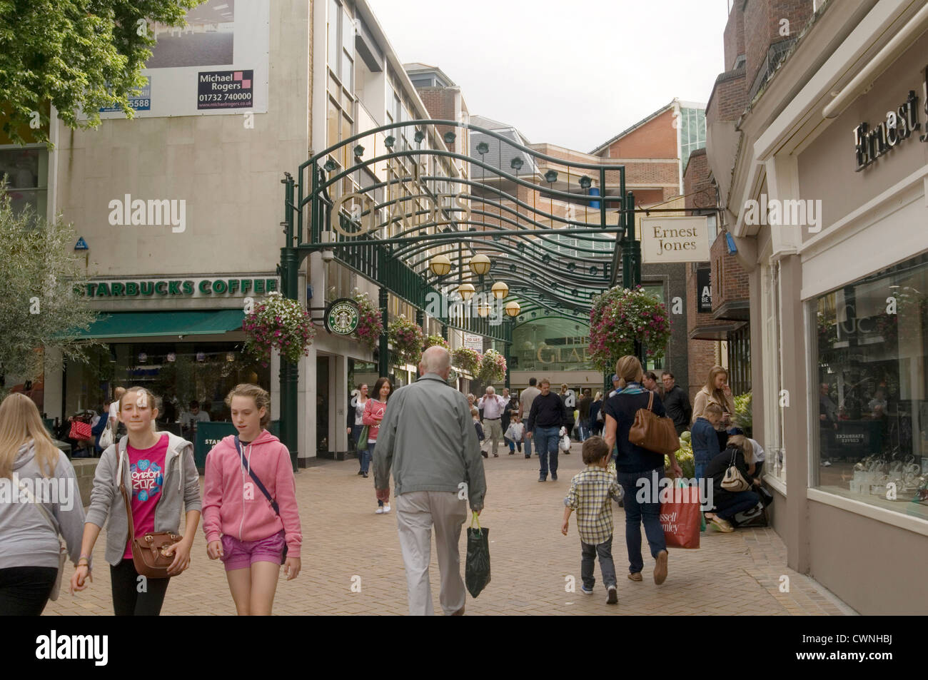 bromley high street highstreet uk retail price index sale sales economy shop shopper shoppers shops shopping - Stock Image