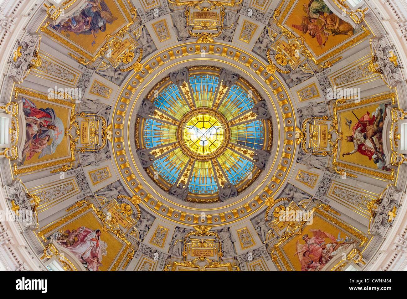 Europe, Germany, Berlin, Berlin Cathedral - Stock Image