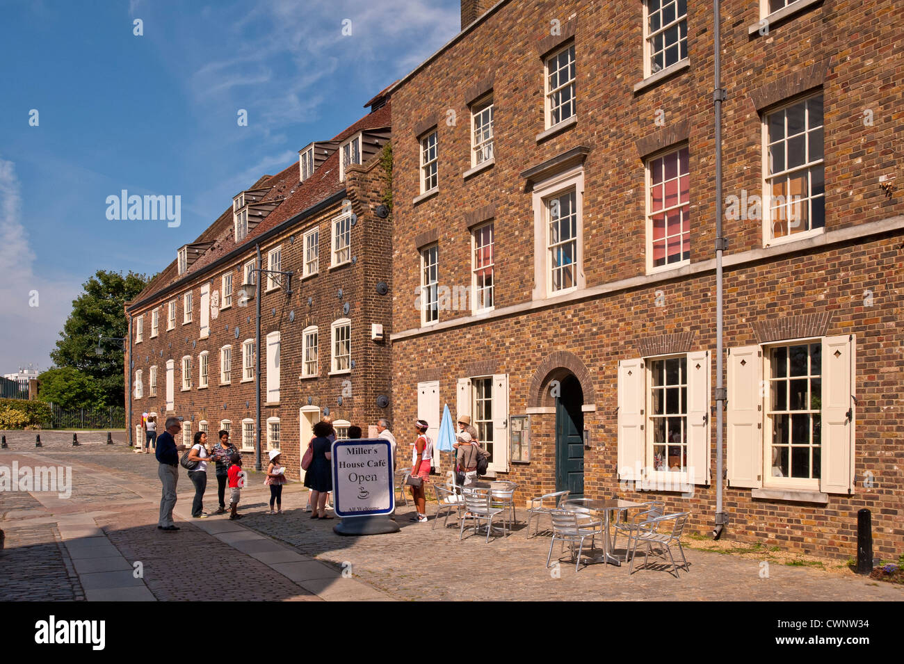House Mill, a Tidal Mill on the River Lea in Bromley-by-Bow, London - Stock Image