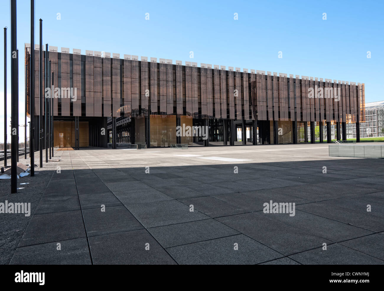 European Court of Justice, Kirchberg Plateau, European District, Luxembourg City, Europe - Stock Image