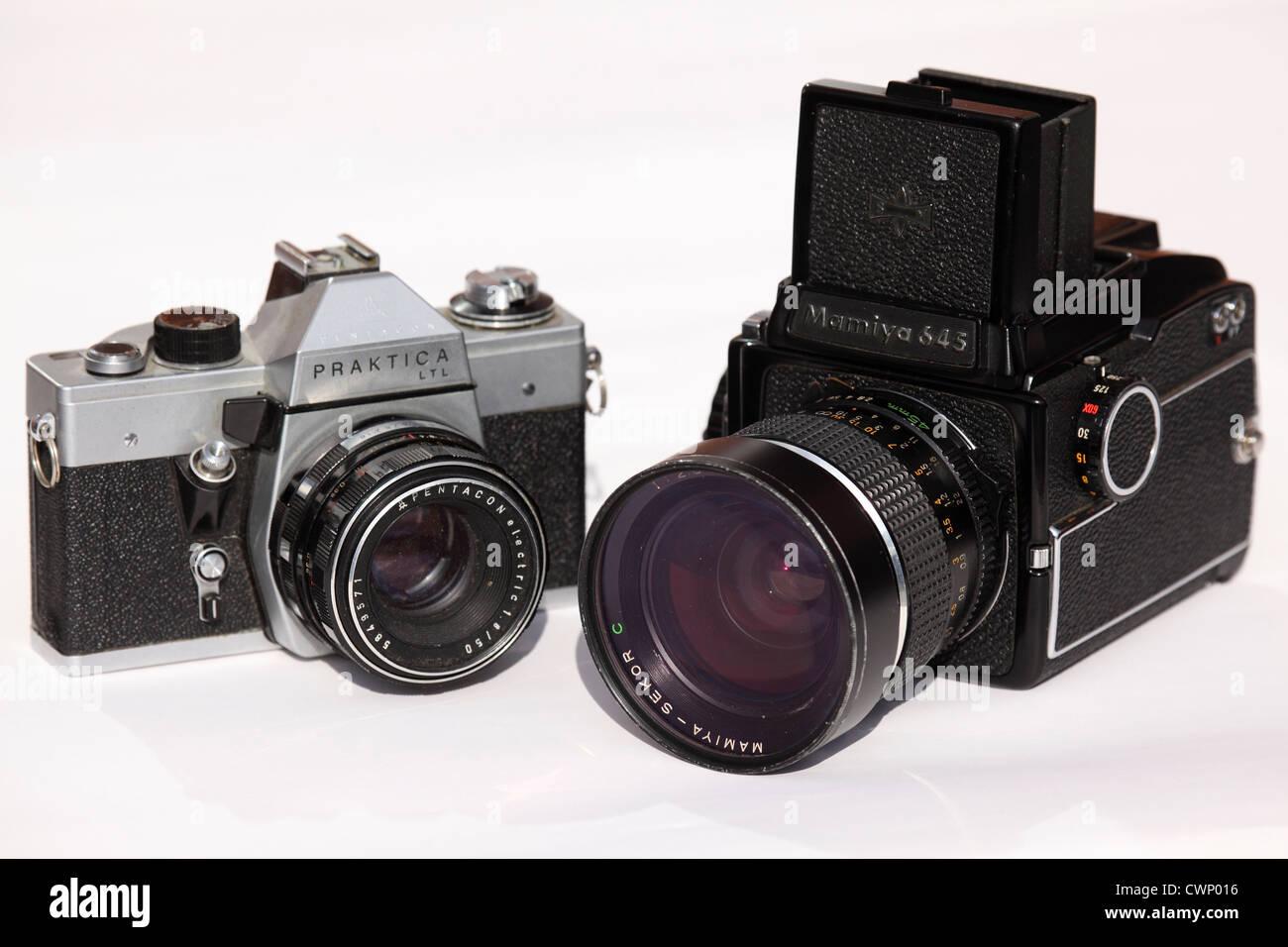 James s camera collection praktica ltl