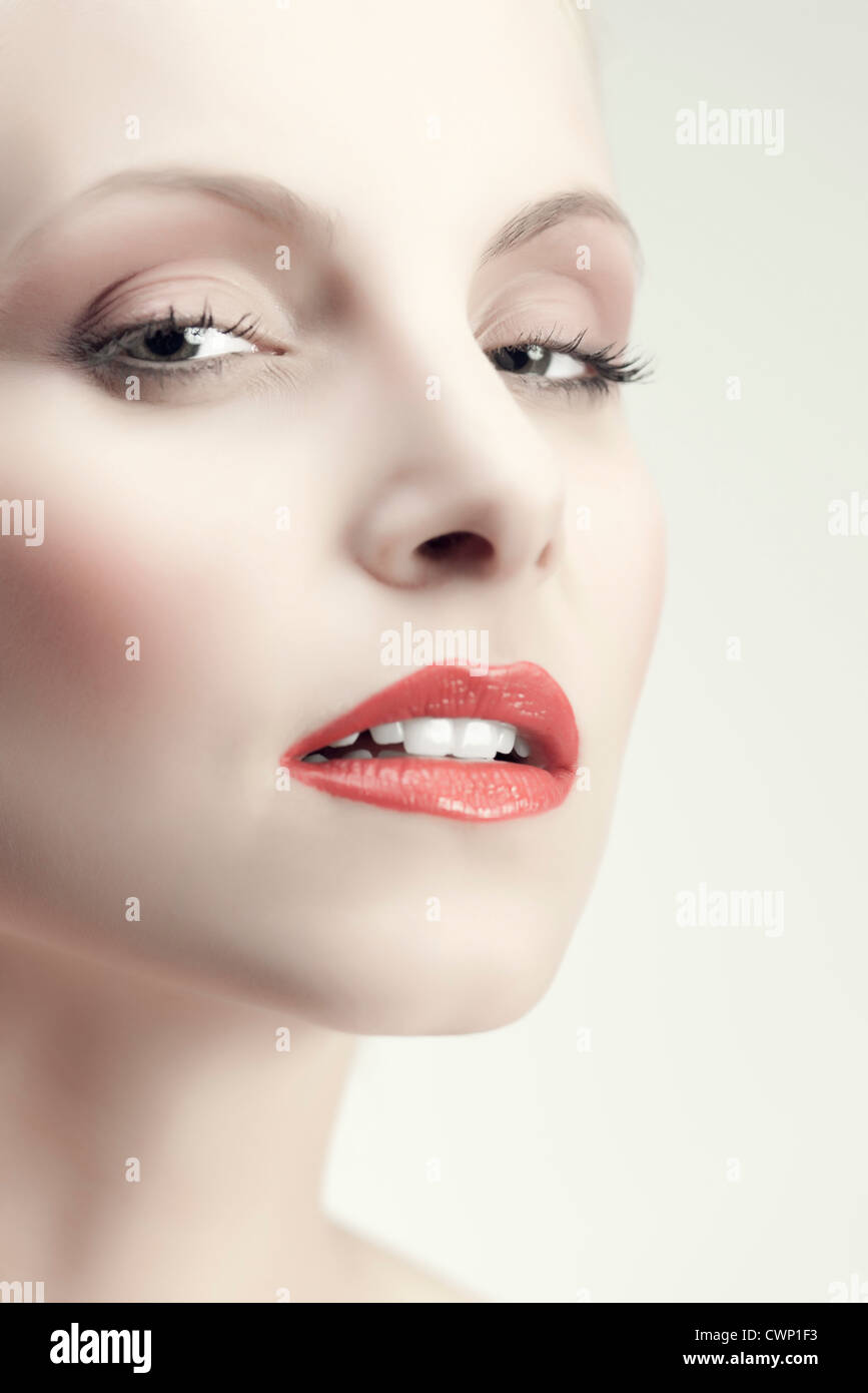 Beauty young woman - Stock Image