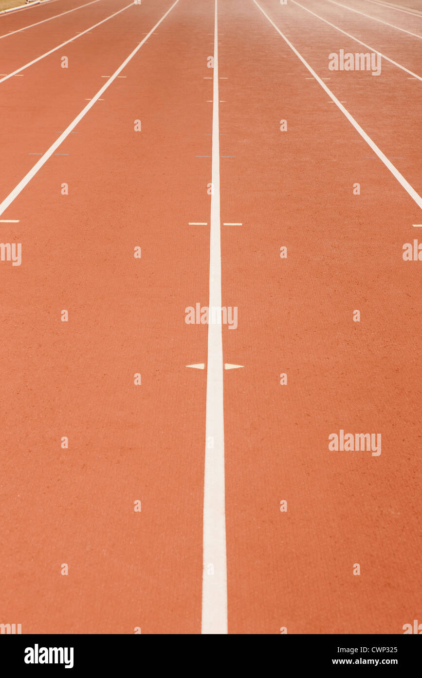 Running track - Stock Image