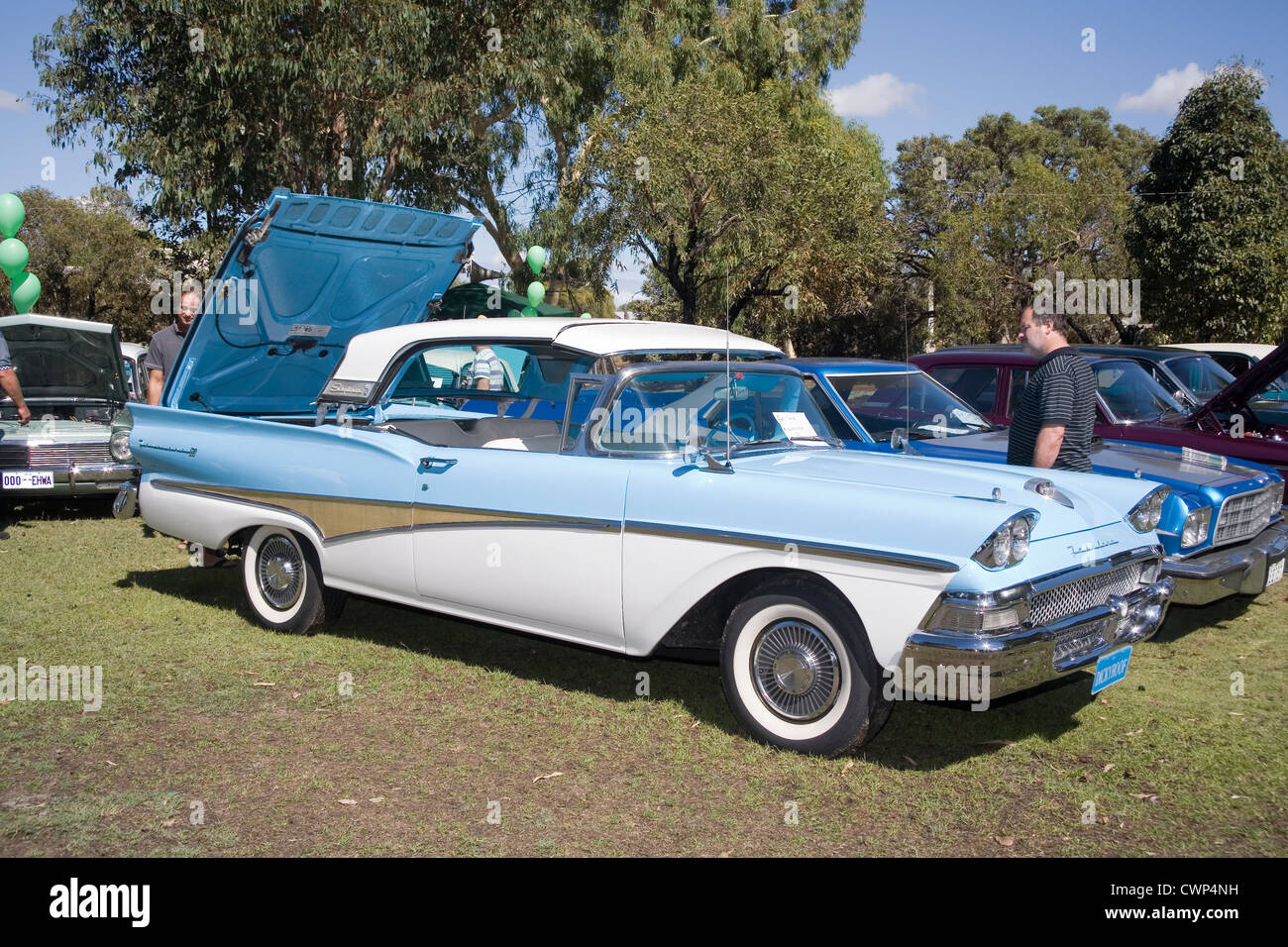 1950s Ford Skyliner Classic Car With Electric Folding Roof
