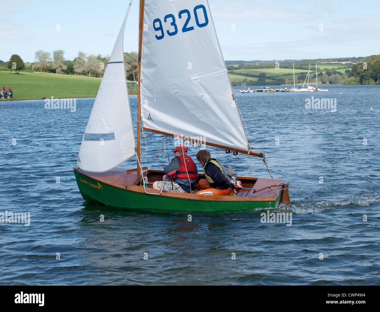 Heron sailing Dinghy  Somesret on Dinghy  Wimbleball Lake