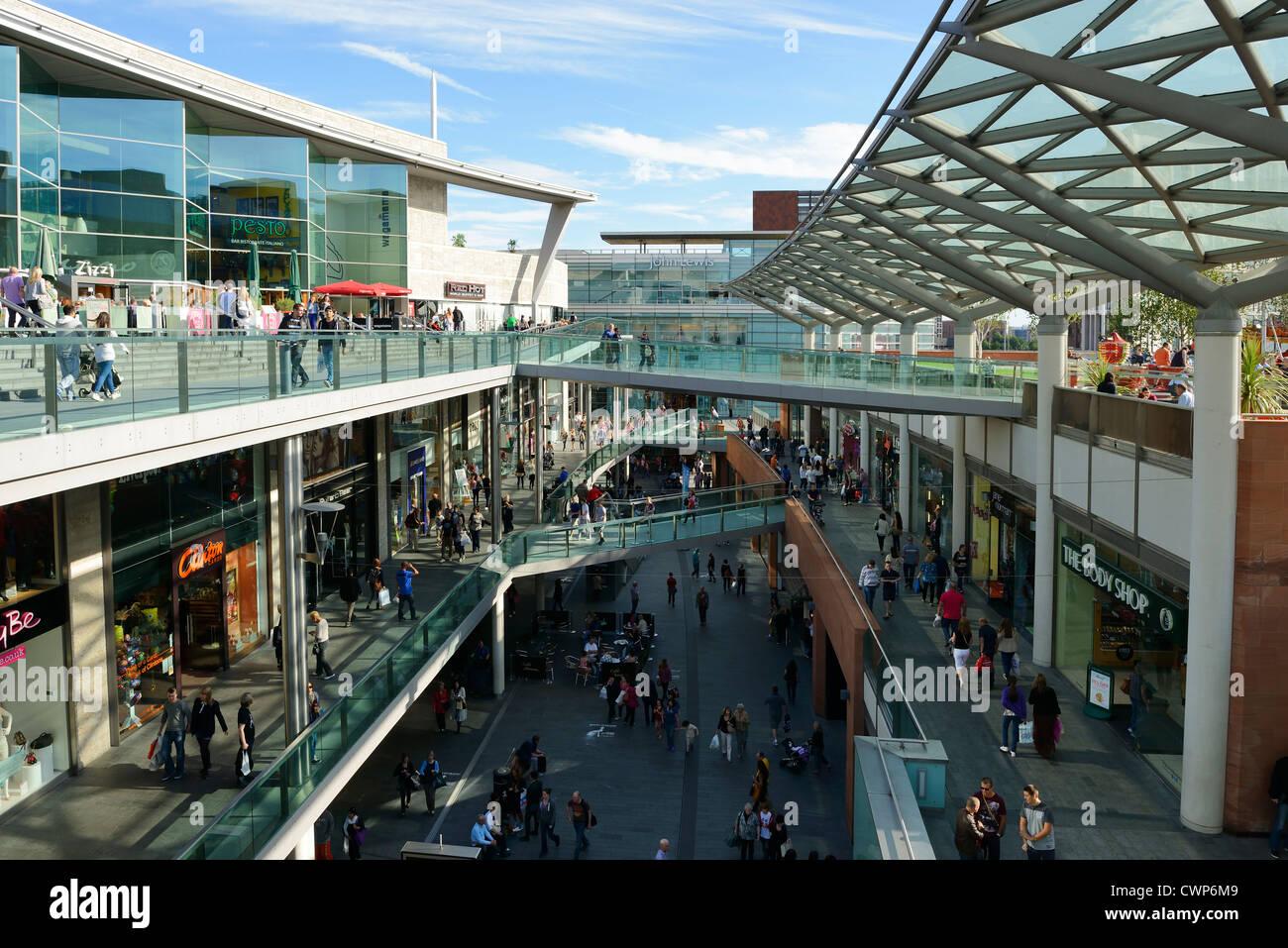 Liverpool One shopping precinct - Stock Image