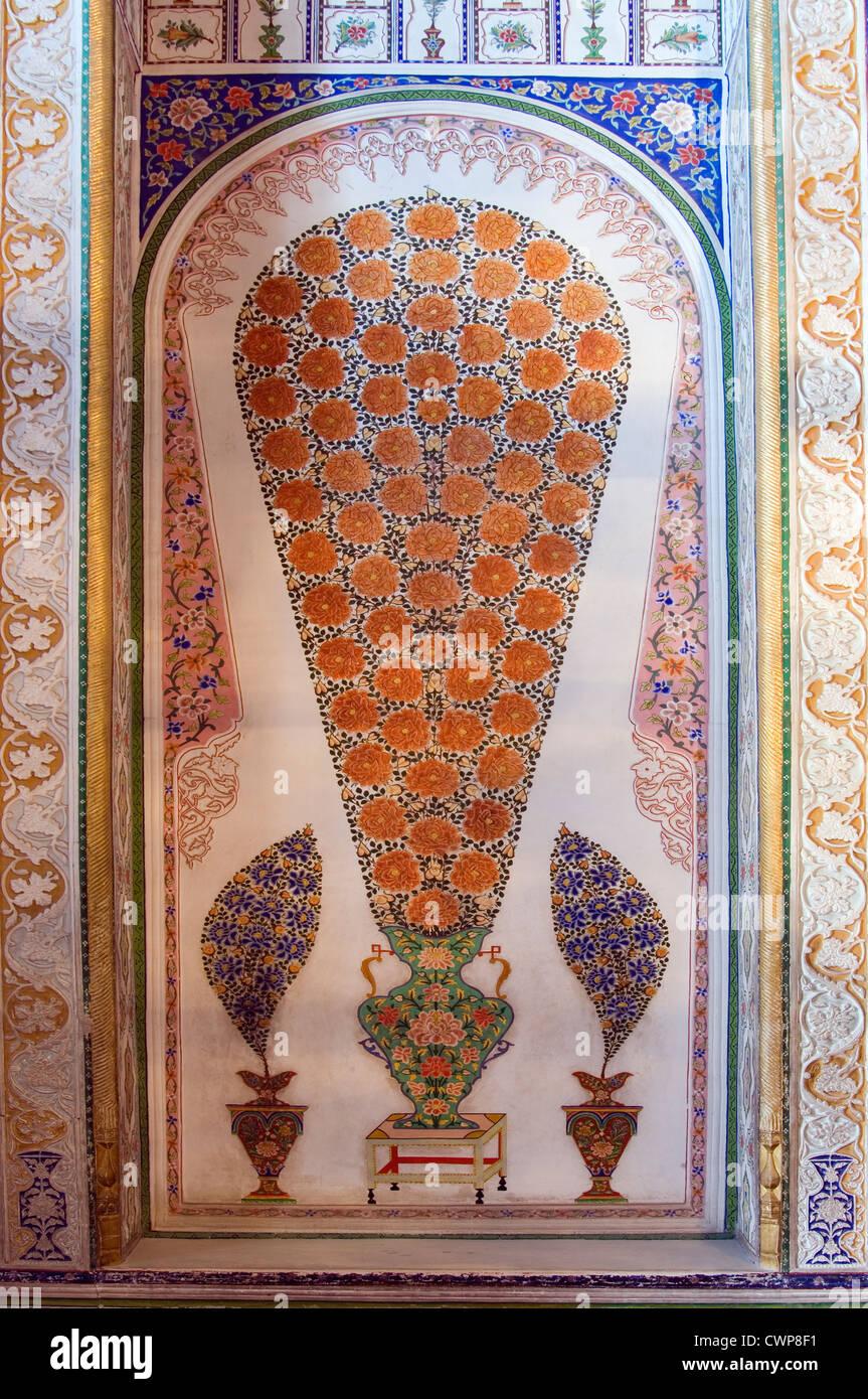 Sitorai Mokhi Khosa (Palace of Moon-like Stars), Summer Palace, Bukhara, Uzbekistan - Stock Image