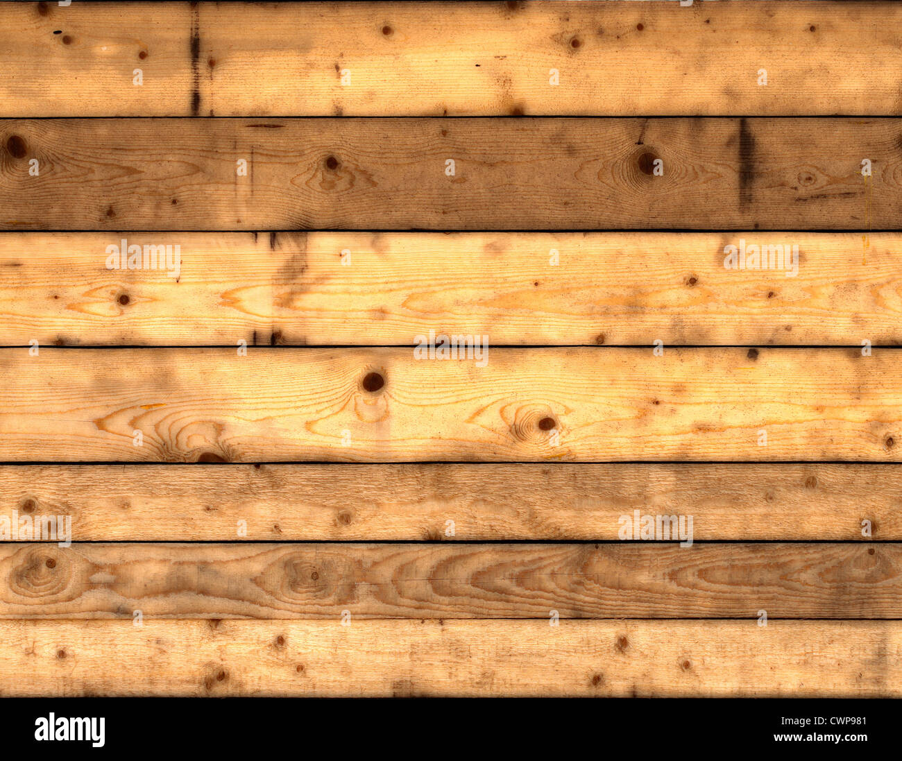 texture of wooden planks - Stock Image