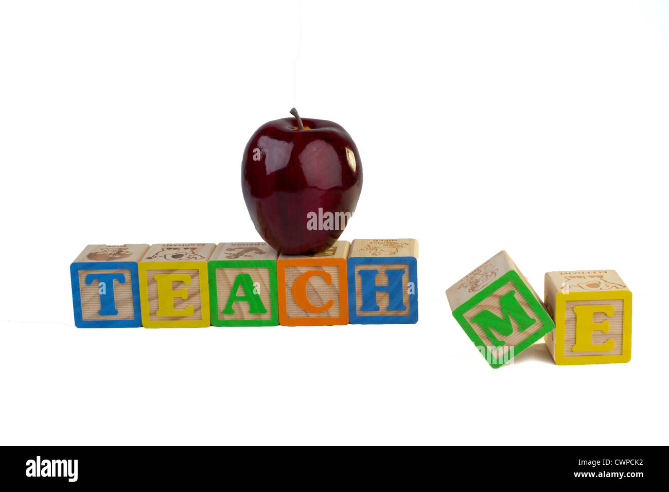 Teach me - Stock Image