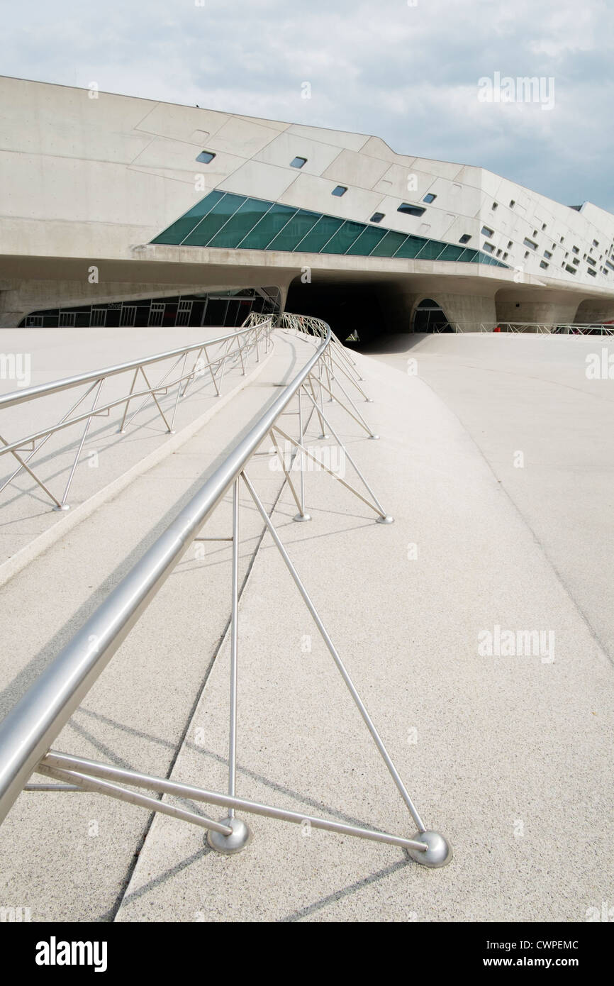 Phaeno Science Center in Wolfsburg Germany ; Architect Zaha Hadid Stock Photo