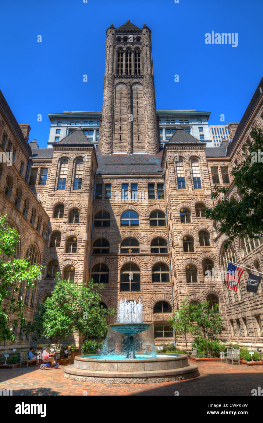 Allegheny County Courthouse in downtown Pittsburgh, Pennsylvania, USA. - Stock Image