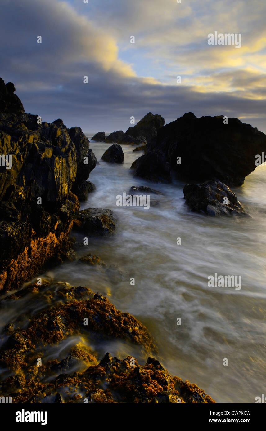 Seal Rock Coastline, Oregon, USA - Stock Image