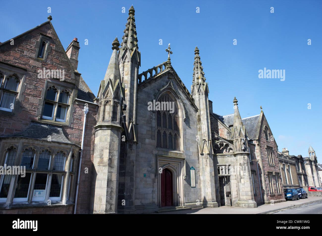 st marys roman catholic church inverness highland scotland uk Stock Photo