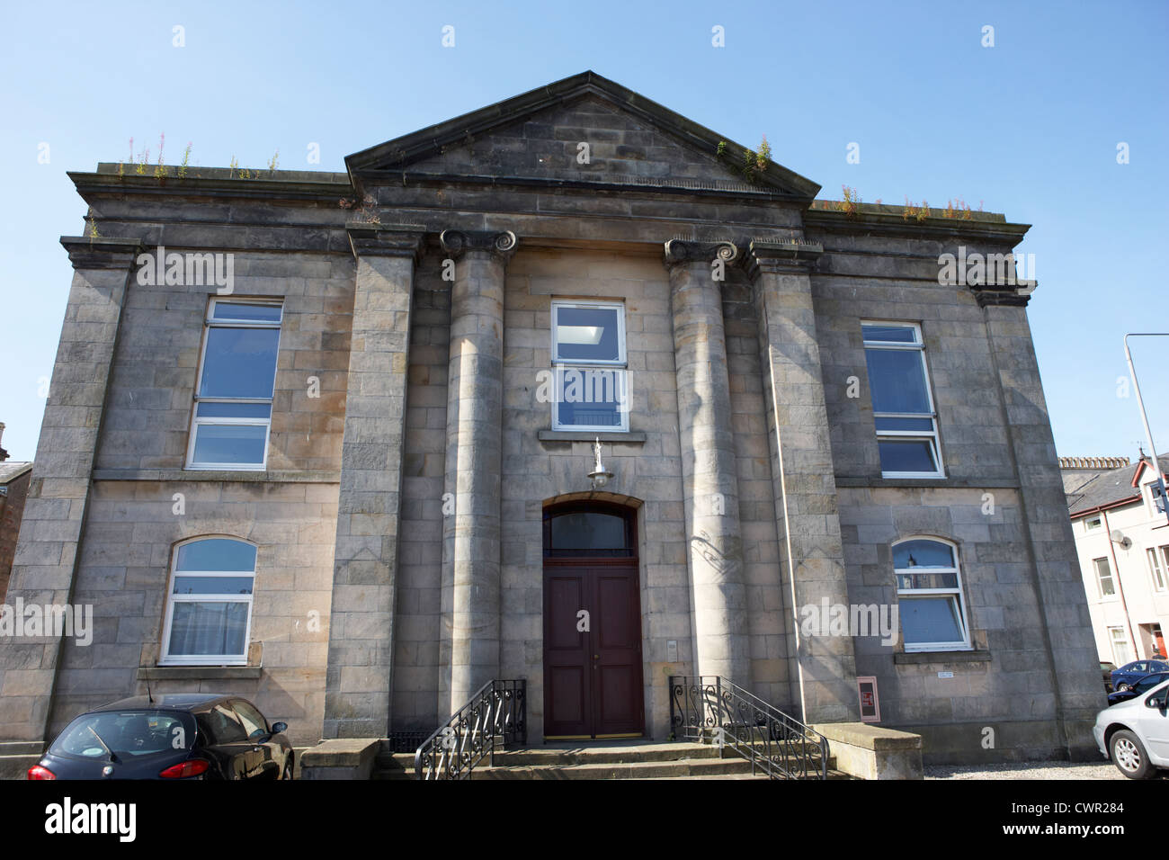 the former west parish church now apartments huntly street inverness highland scotland uk Stock Photo