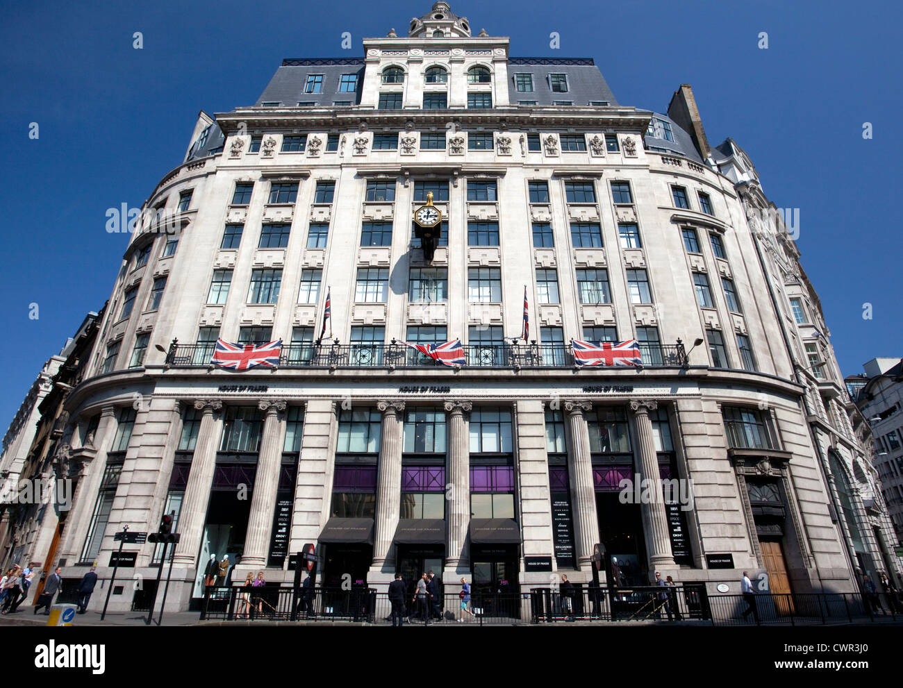 House of Fraser department store in City of London - Stock Image