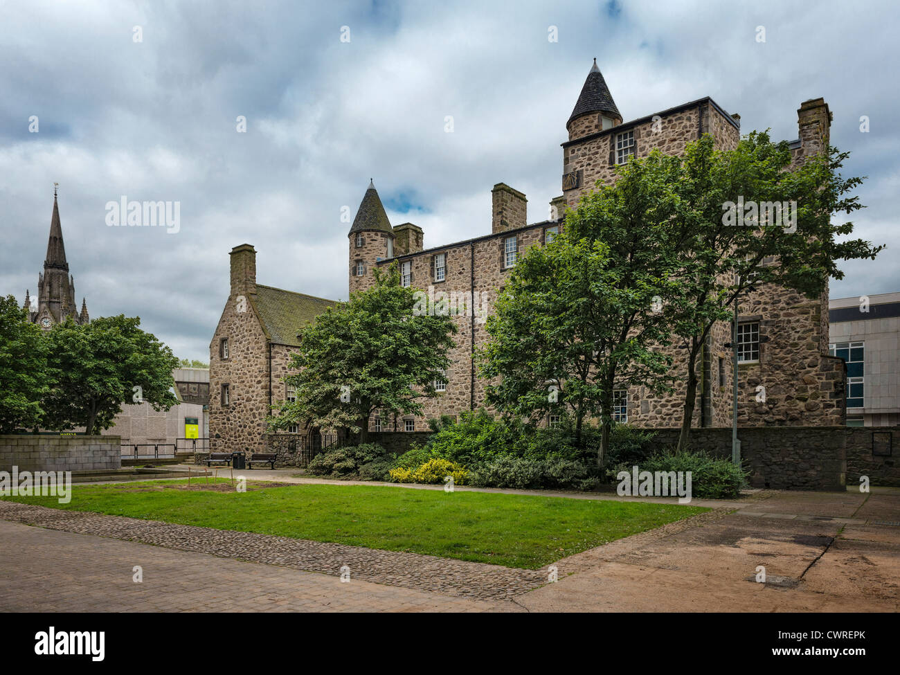 Provost Skene's House Aberdeen Stock Photo