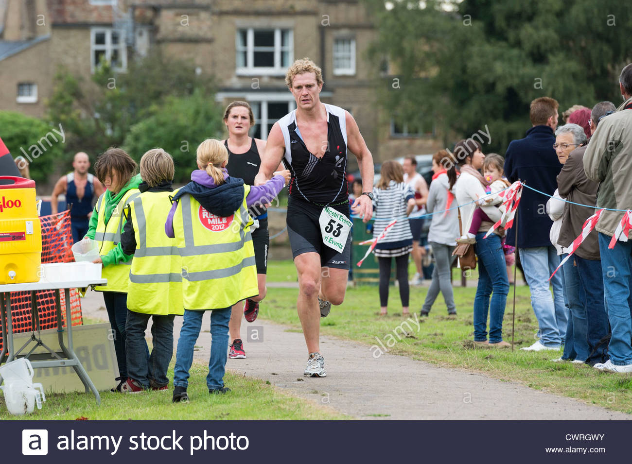 Triathlete Run Stock Photos Triathlete Run Stock Images Alamy