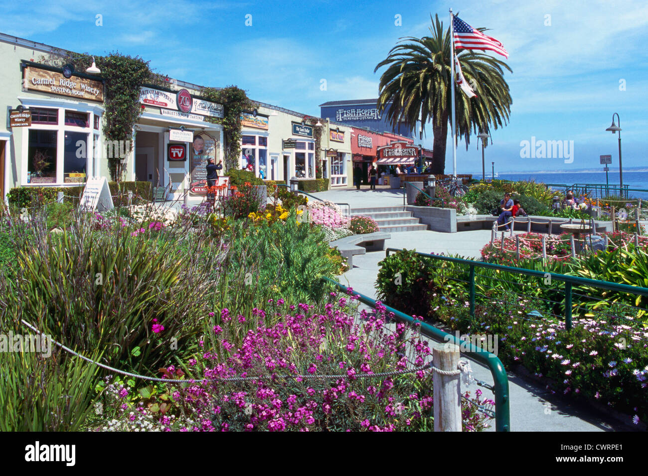 Monterey California Usa Shops And Restaurants At