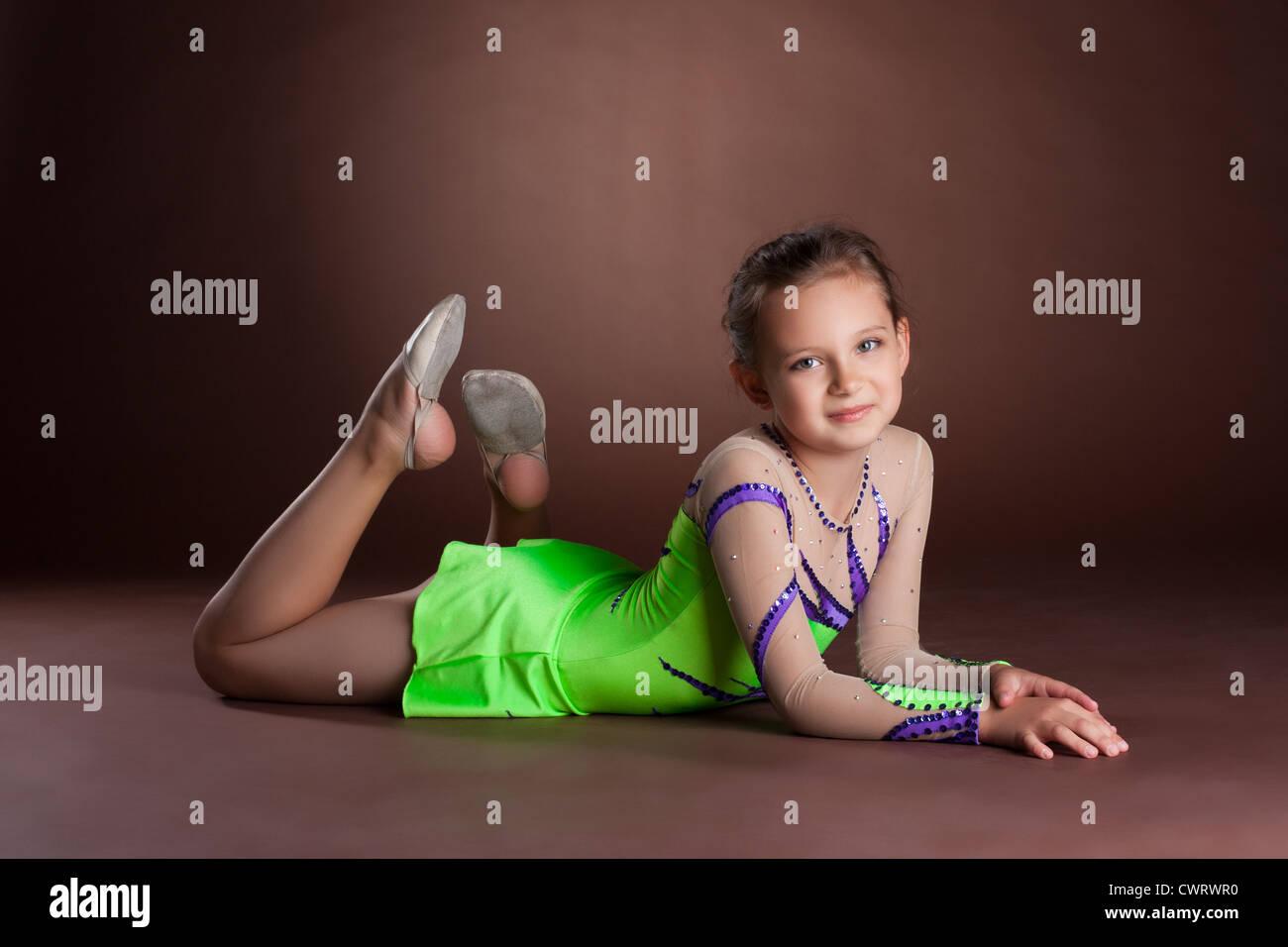 Version Girl gymnastics teen remarkable