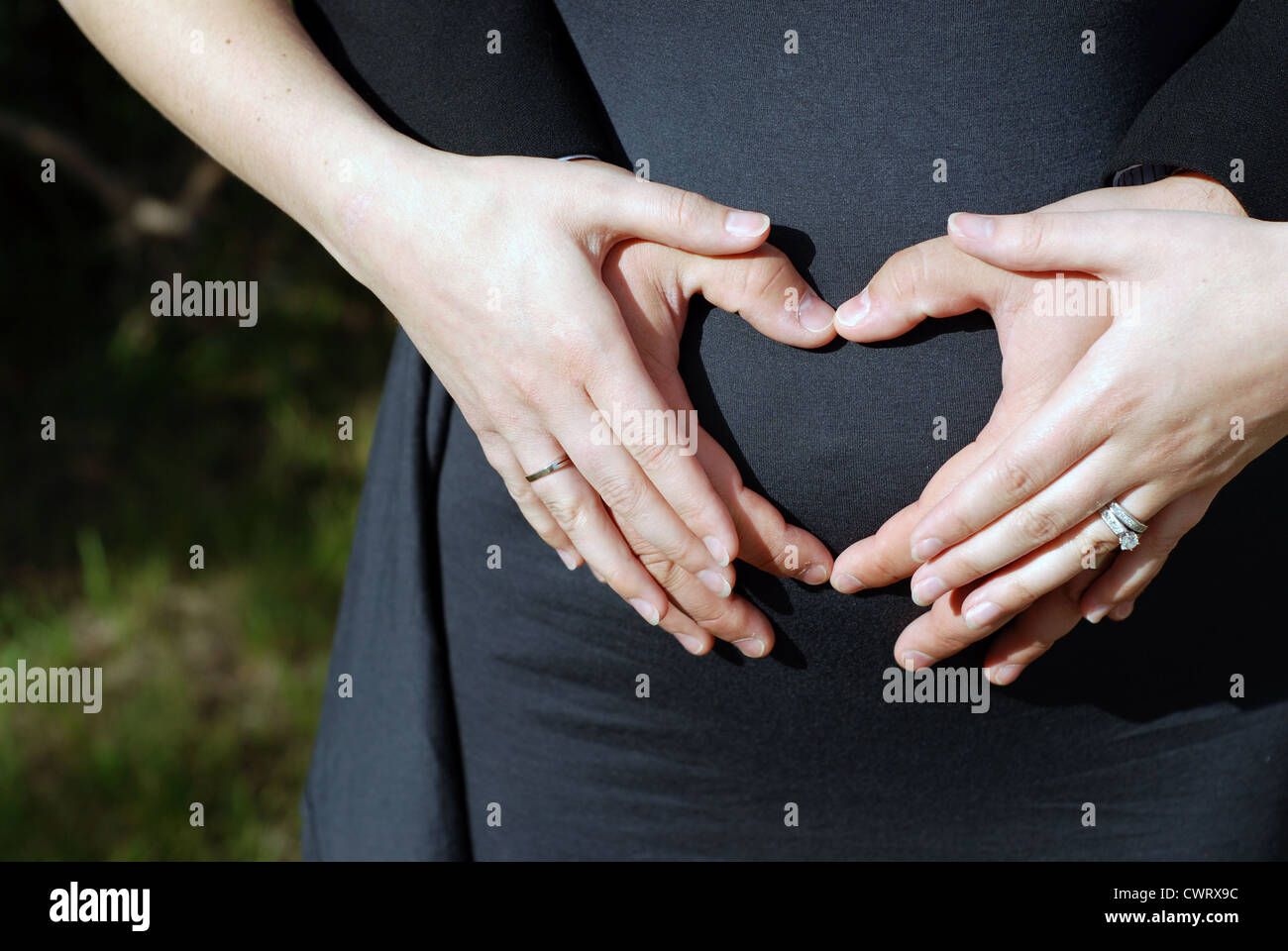 Sorry, heart hands on pregnant belly apologise, but