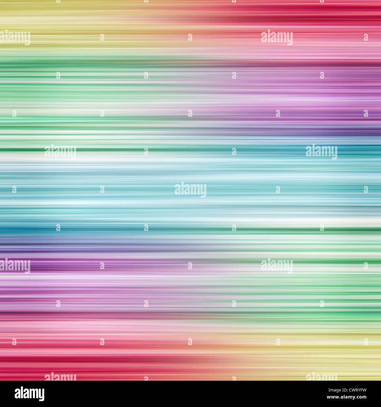 Colorful linear rainbow design background with copy space. - Stock Image