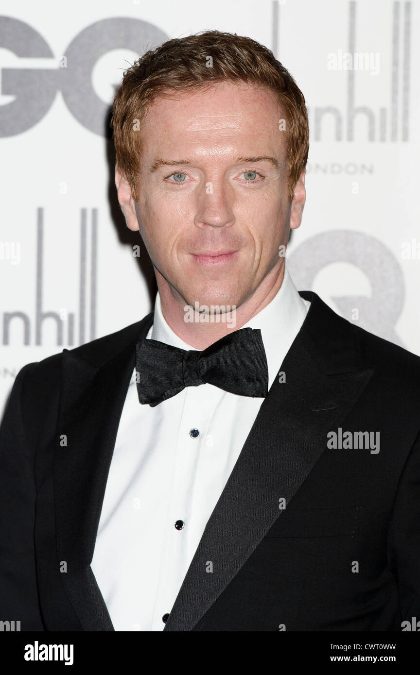 Damian Lewis arrives for the GQ Men of the Year Awards at a central London venue. Stock Photo