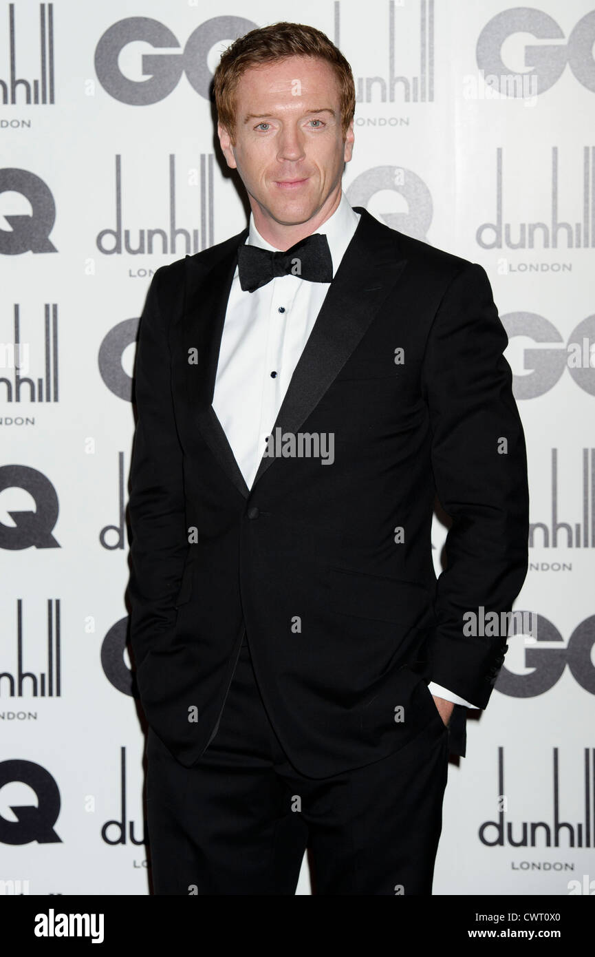 Damian Lewis arrives for the GQ Men of the Year Awards at a central London venue. - Stock Image