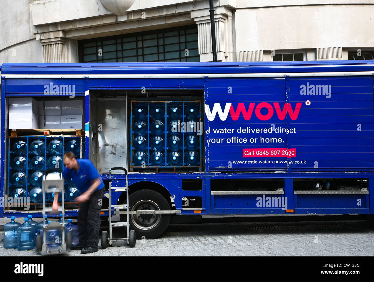 Water delivery Stock Photo: 50316436 - Alamy