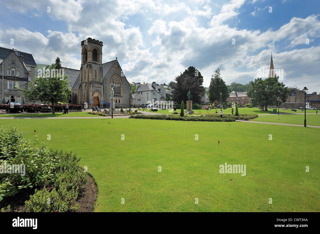 Fort William town square Stock Photo