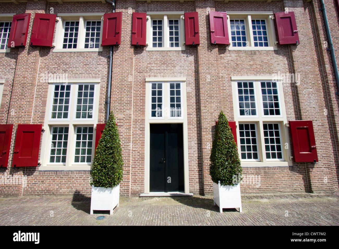 Palace 'Het Loo' in Apeldoorn, The Netherlands - Stock Image