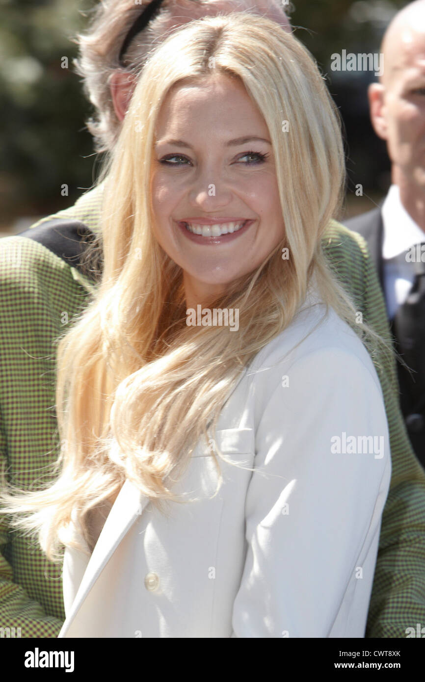 VENICE - AUGUST 29:  Kate Hudson during the 69th Venice Film Festival on August 29, 2012 in Venice. - Stock Image