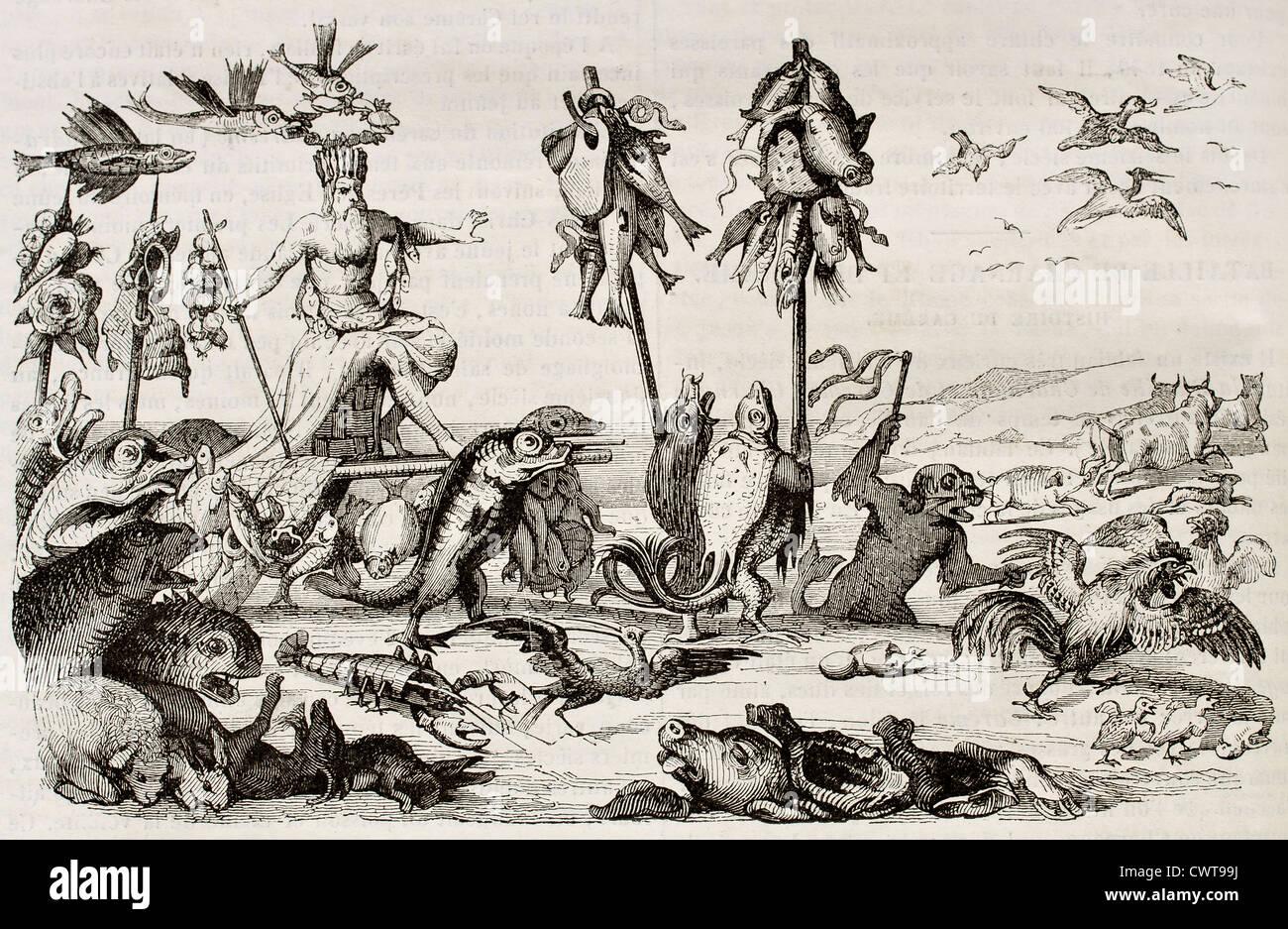 Lent triumph - Stock Image