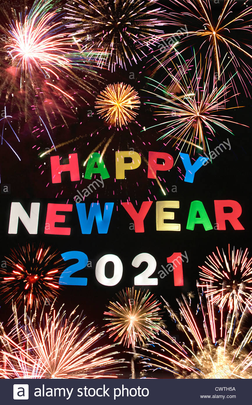 Happy New Year 2021 High Resolution Stock Photography and Images - Alamy