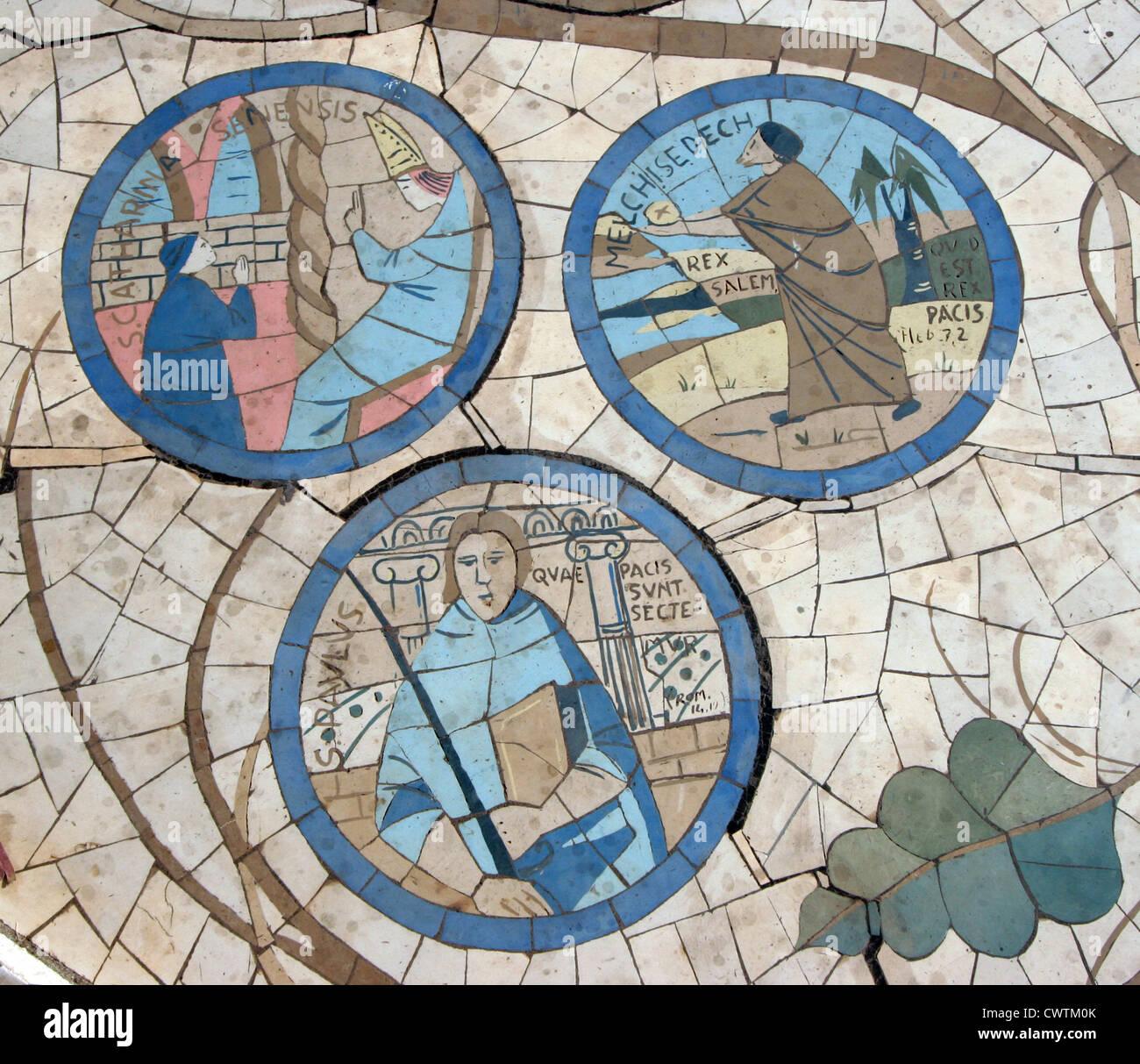 Holy Spirit Symbol Mosaic In Stock Photos Holy Spirit Symbol