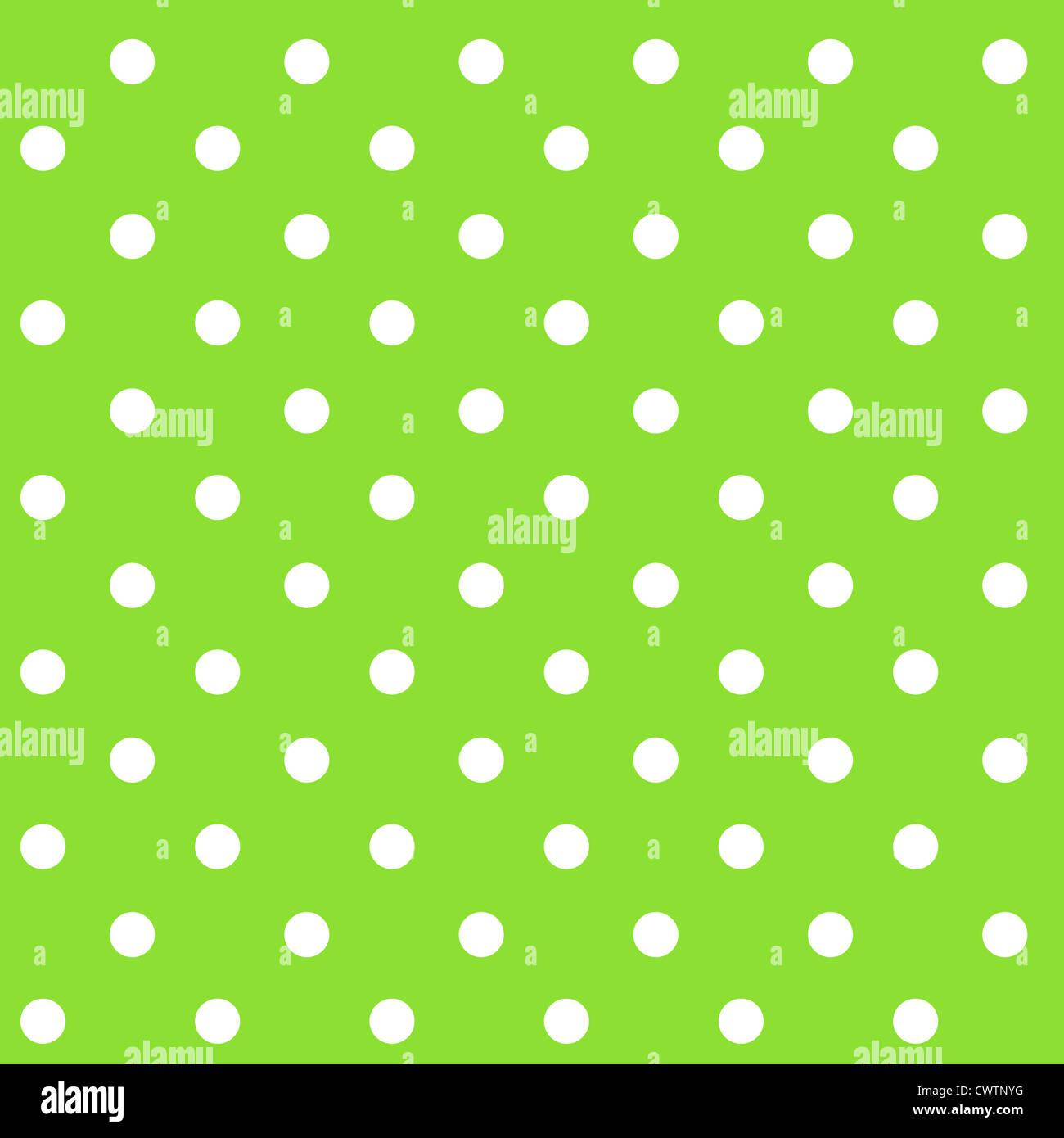 Seamless polka dots pattern Stock Photo