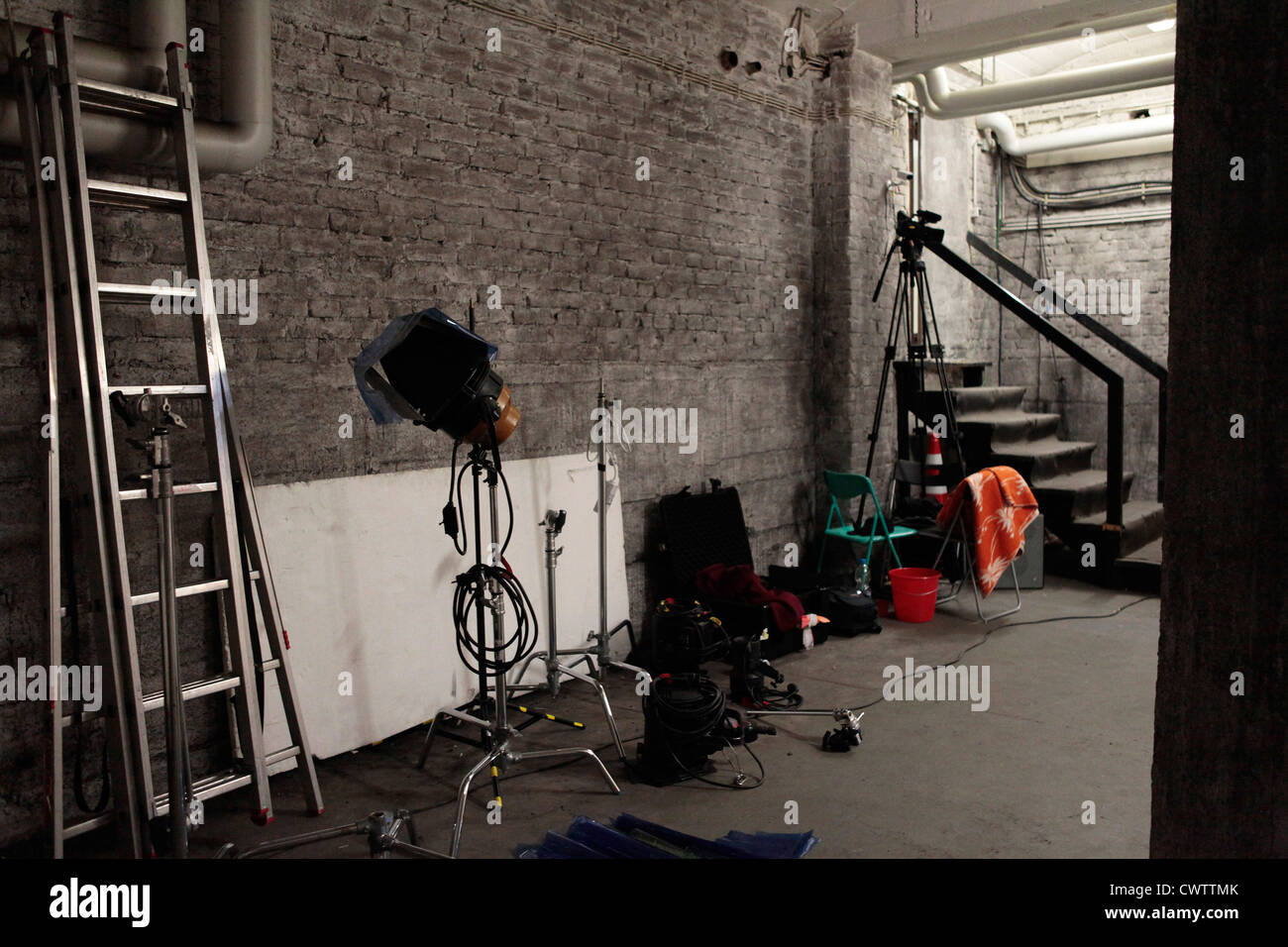 Backstage room - Stock Image