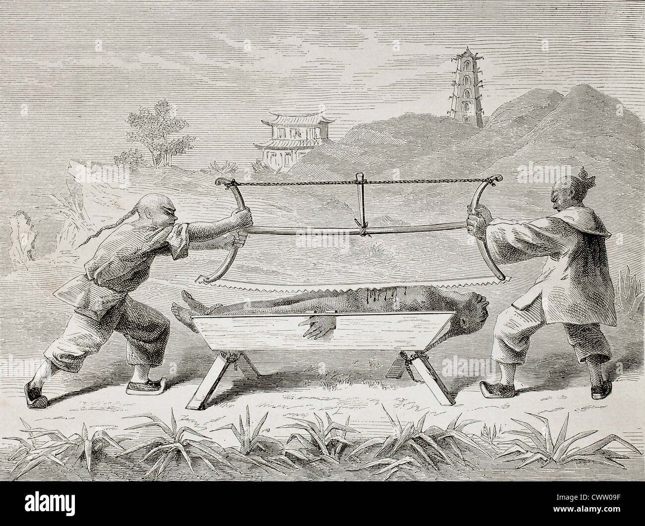 Ancient Chine Torture Porn chinese torture high resolution stock photography and images
