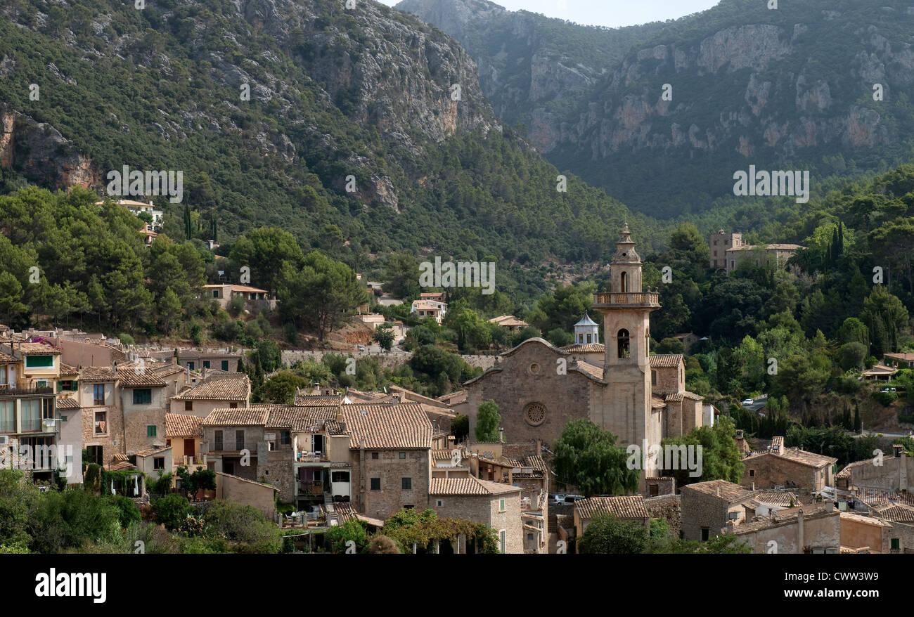 Valldemossa, Mallorca, Spain -1 - Stock Image