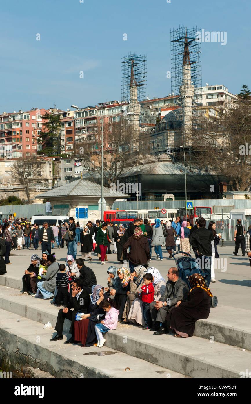 Türkei, Istanbul, Üsküdar, Stadtansicht - Stock Image