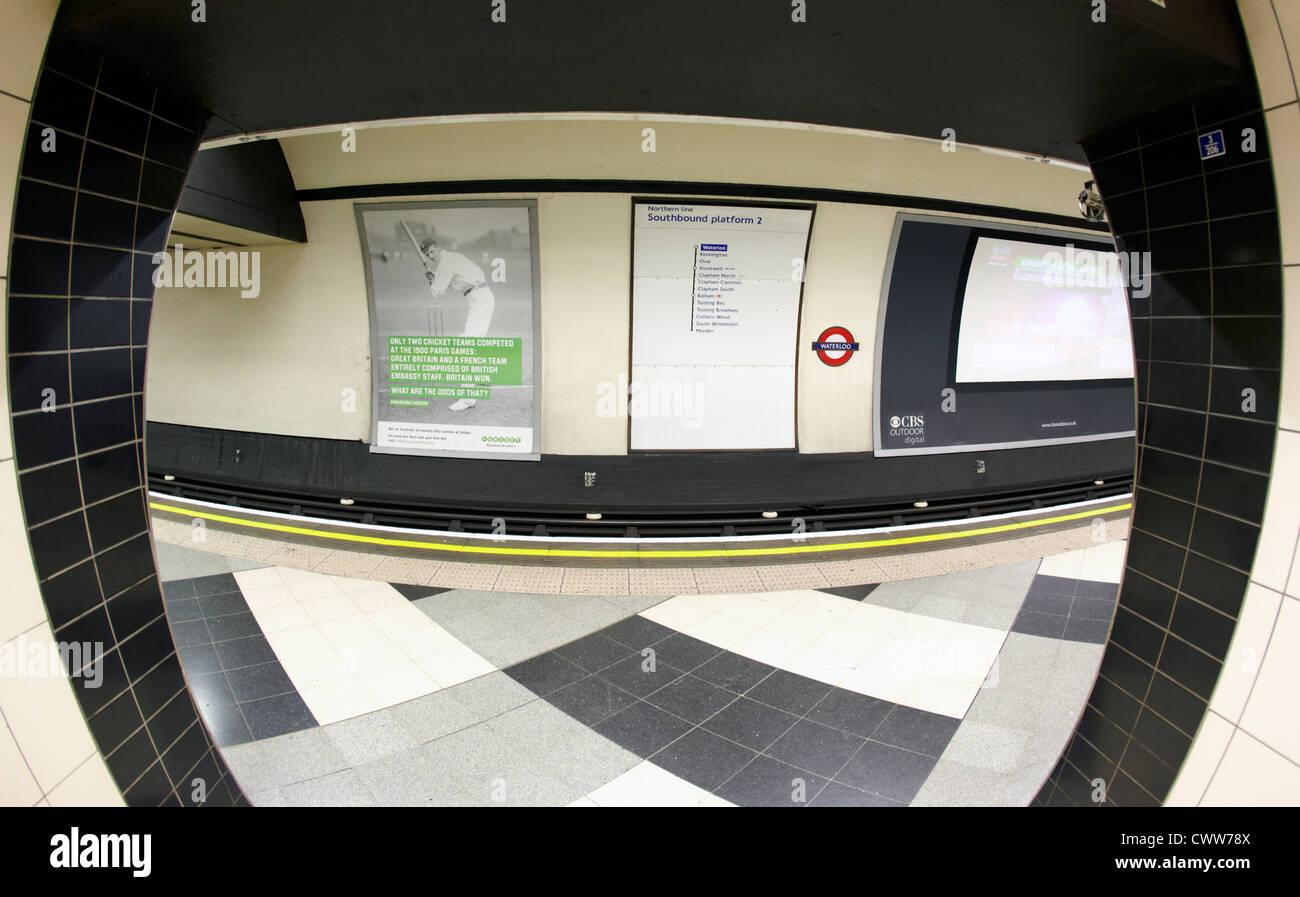 Waterloo Underground Station London 2012 UK - Stock Image