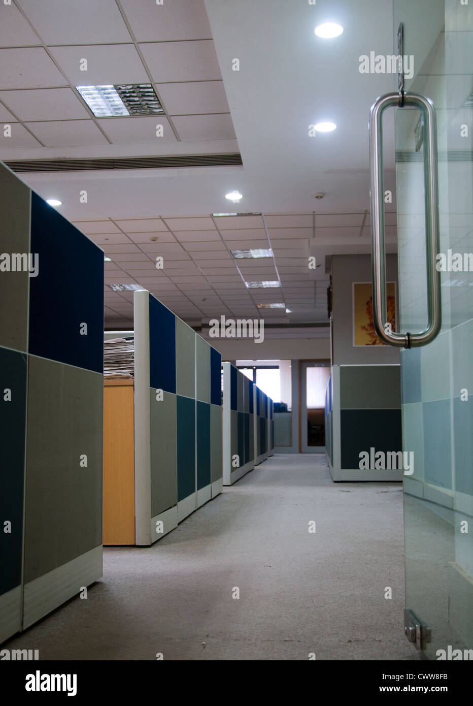 Vacant office interior - Stock Image