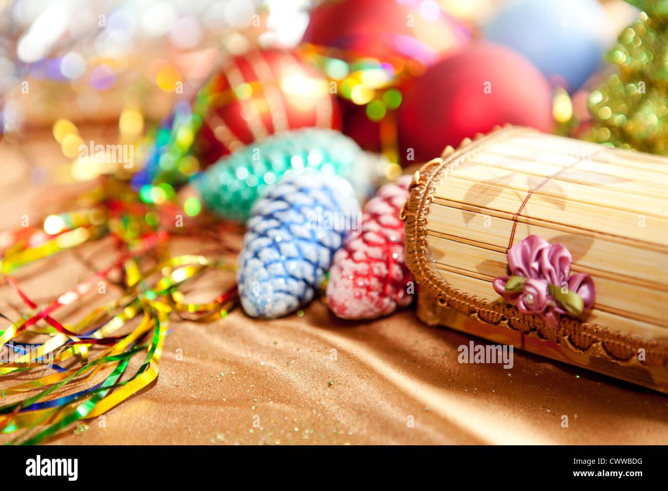 Preparing for Christmas - Stock Image
