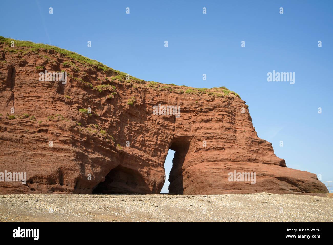 Langstone Rock Dawlish Devon England UK - Stock Image
