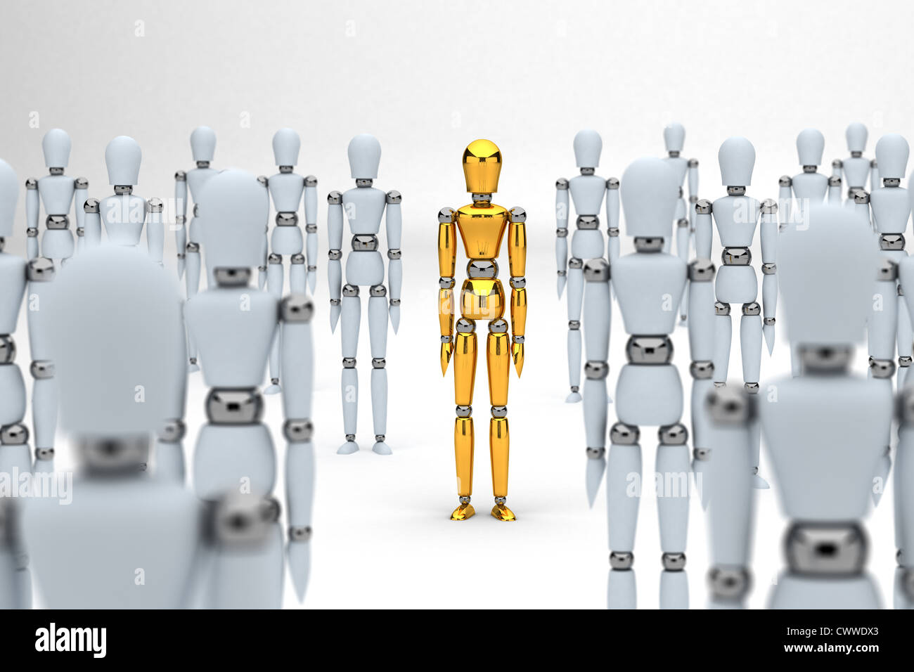 Individuality concept - Stock Image