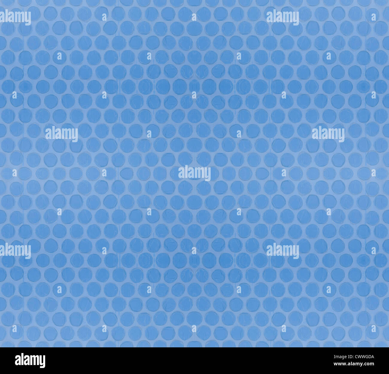 Seamless Tileable Bubble Wrap Background Baby Blue Sky Stock Photo