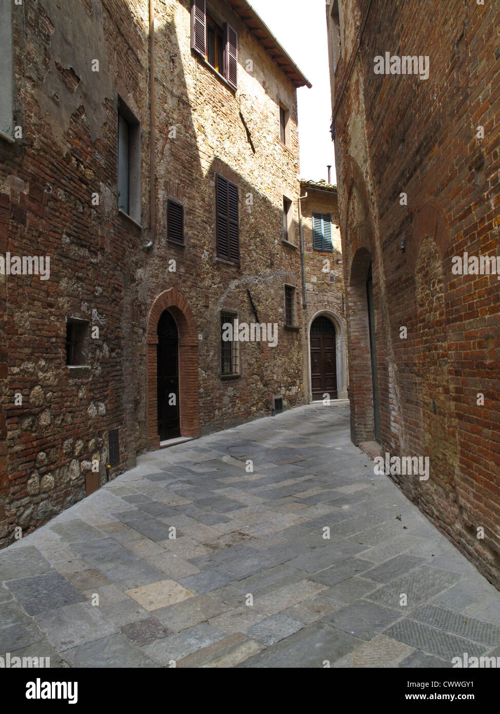 Montepulciano,  old middle ages town in Tuscany, Toscana, Italy, Europa - Stock Image